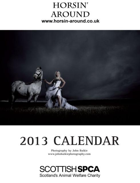 Horsin' Around Calendar 2013